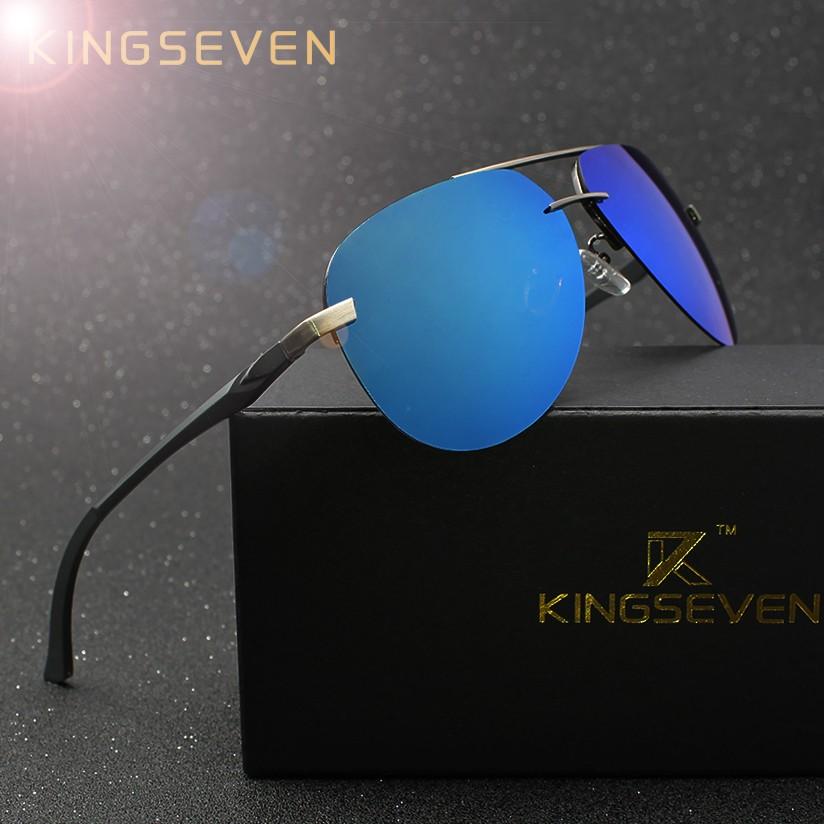 Kingseven Men Polarized Sunglasses