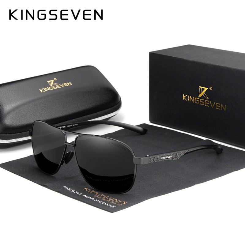 Kingseven Men Polarized UV400 Sunglasses