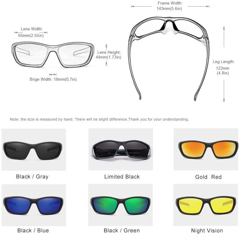 Kingseven Men Vintage Driving Sunglasses UV400